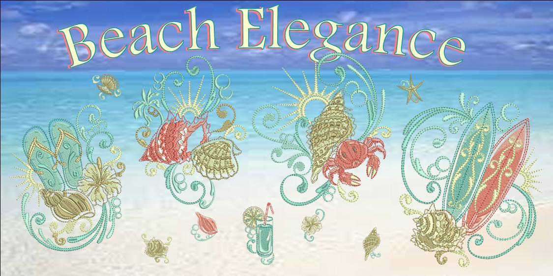 Beach Elegance Banner