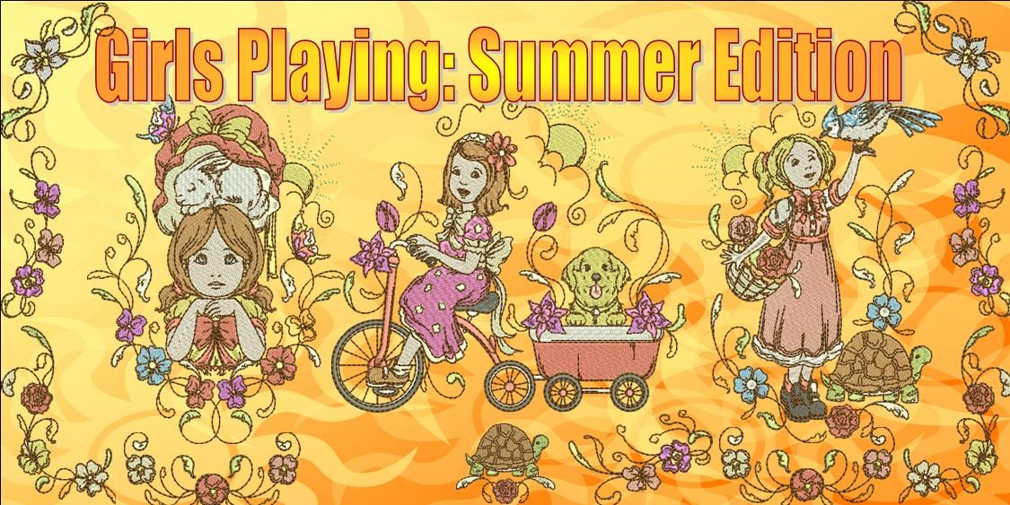 Girls Playing Summer Edition – Copy