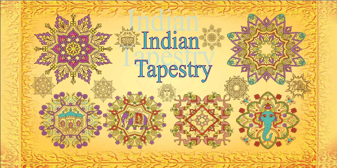 Indian Tapestry banner