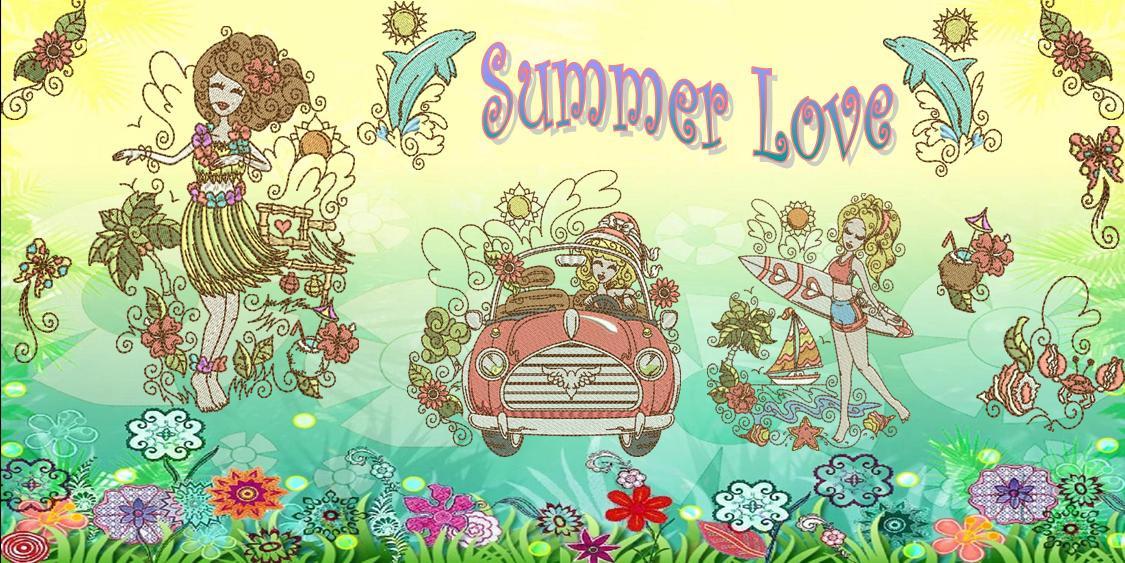 Love Summer Banner