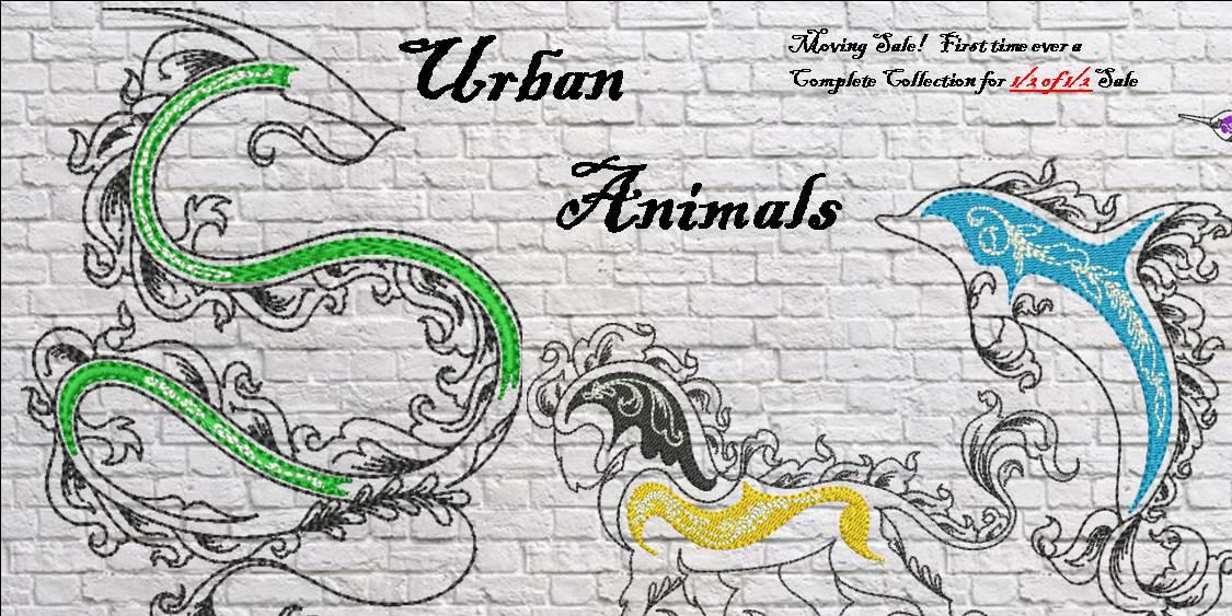 Urban Animals Banner