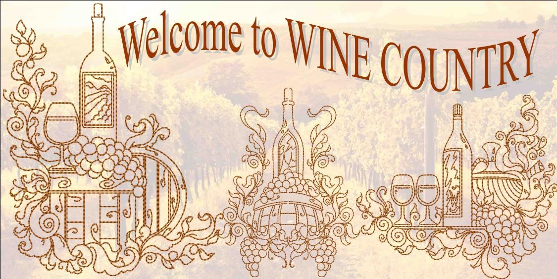 Wine Country Banner