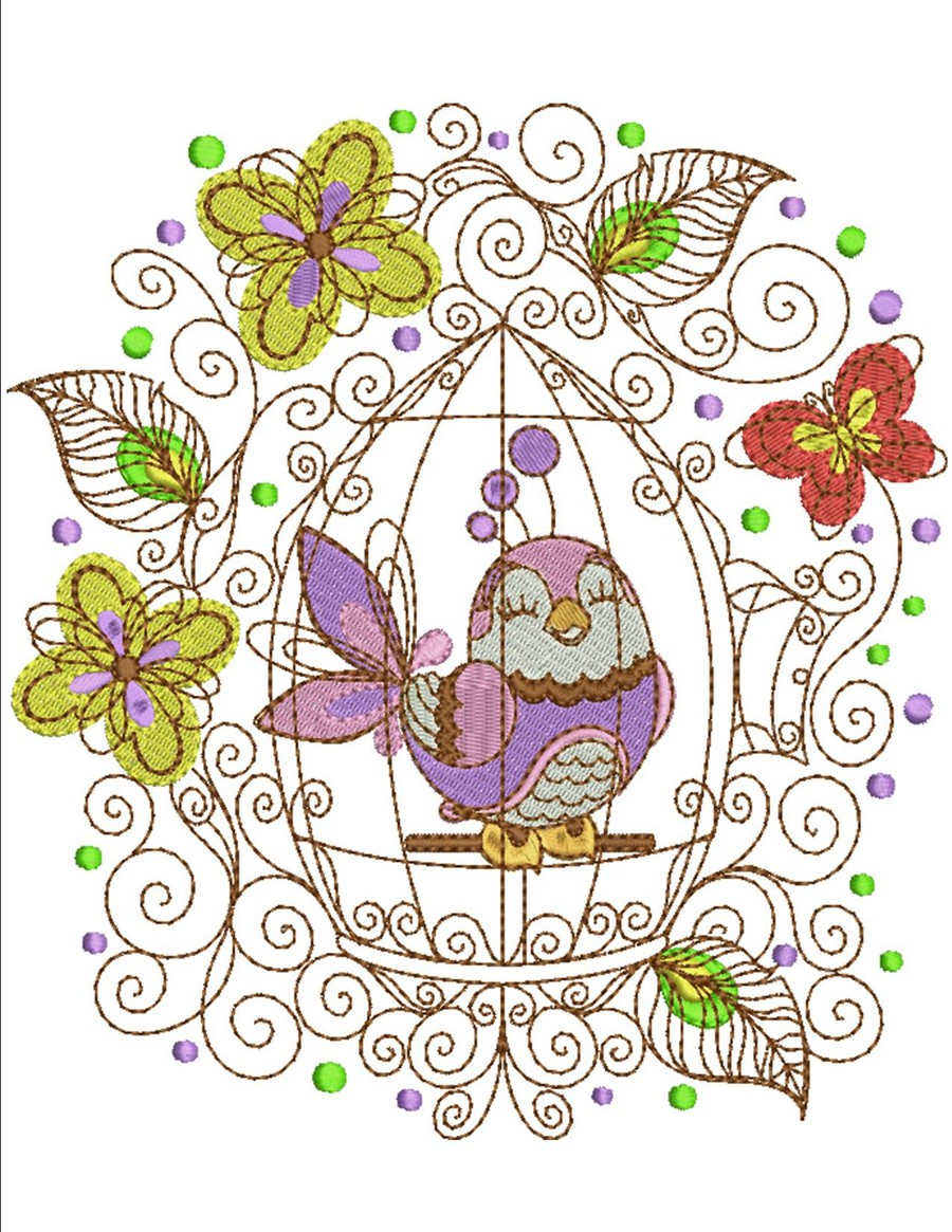 Home Tweet Home Designs | Machine Embroidery Designs By Sew Swell