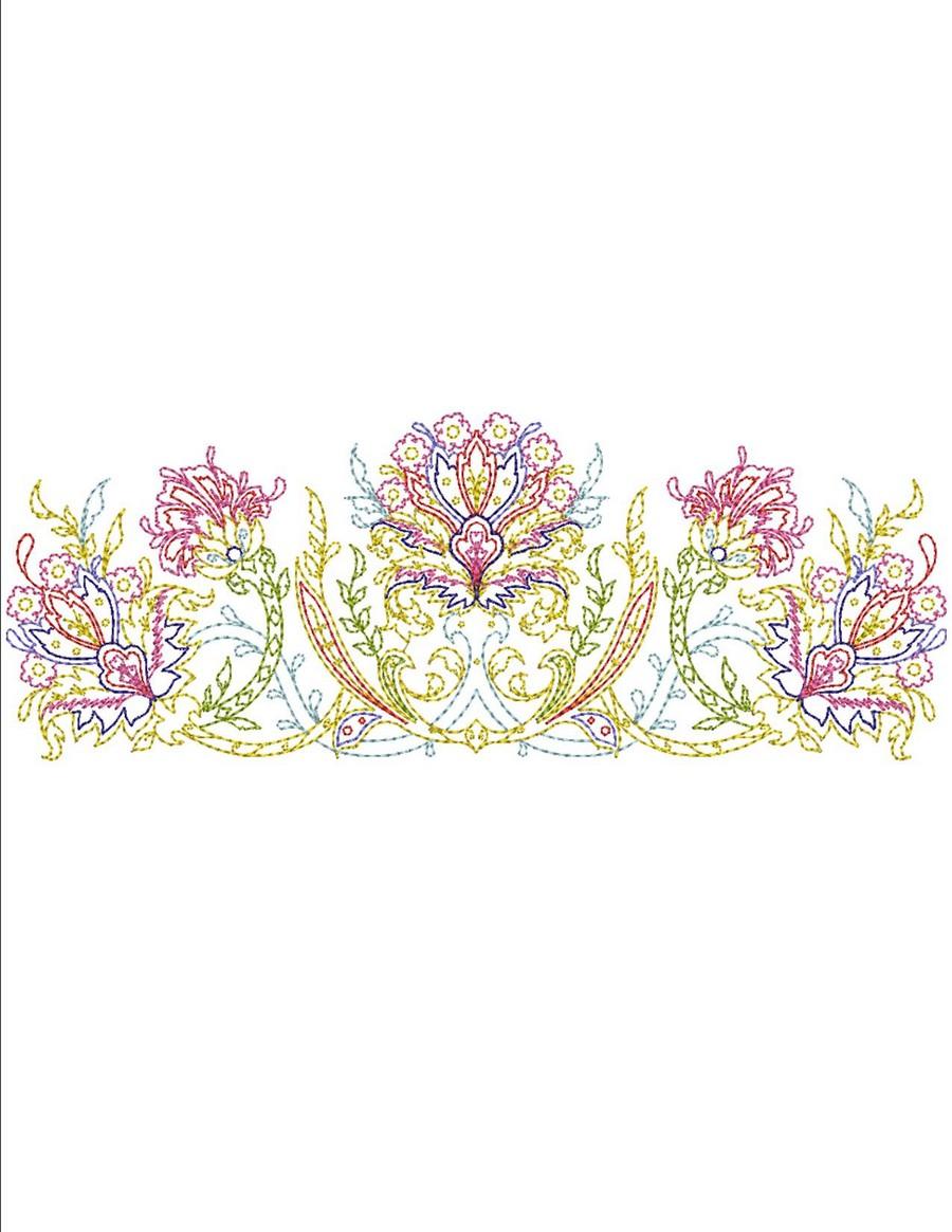 Quilting Border Embroidery Designs : Keepsake Quilt Borders Machine Embroidery Designs By Sew Swell