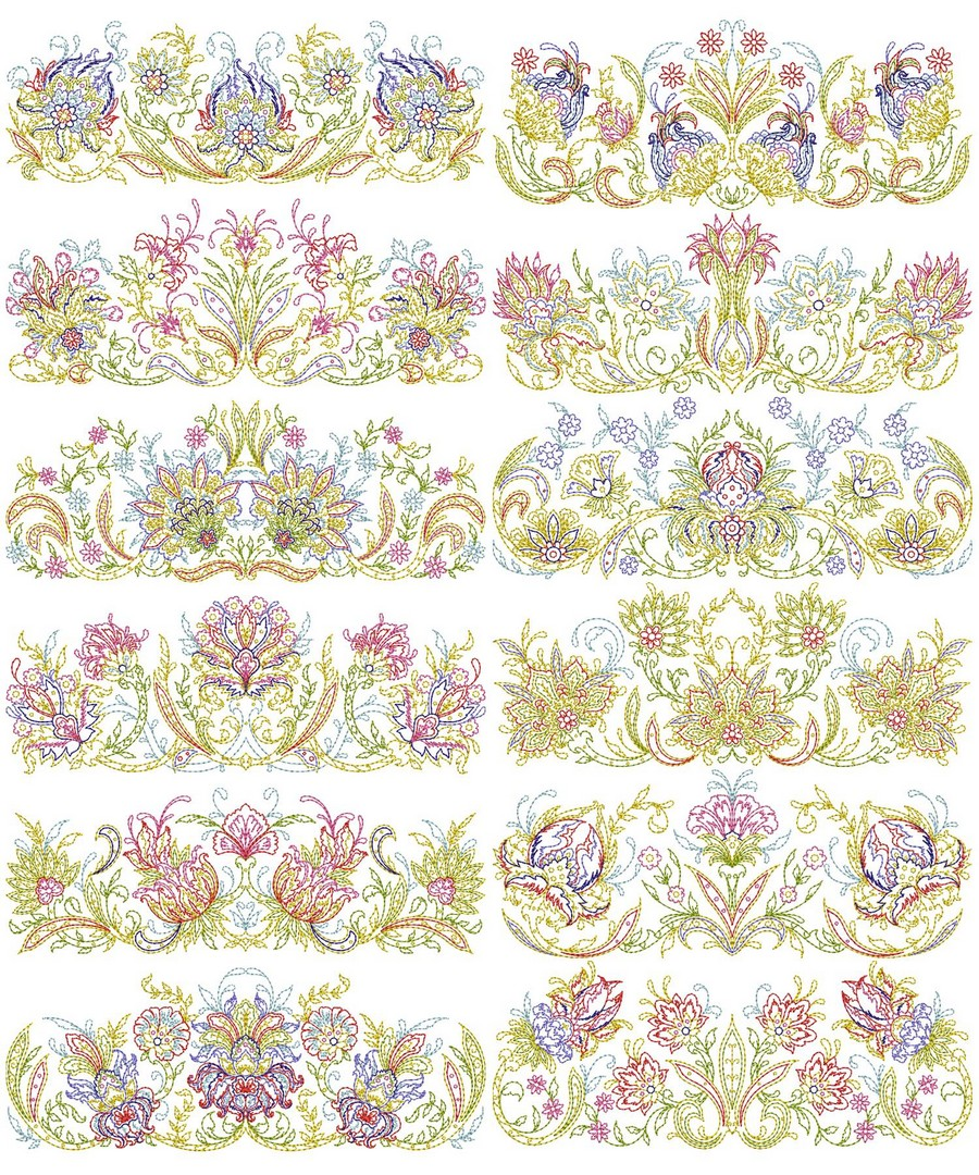 Keepsake Quilt Borders | Machine Embroidery Designs By Sew Swell