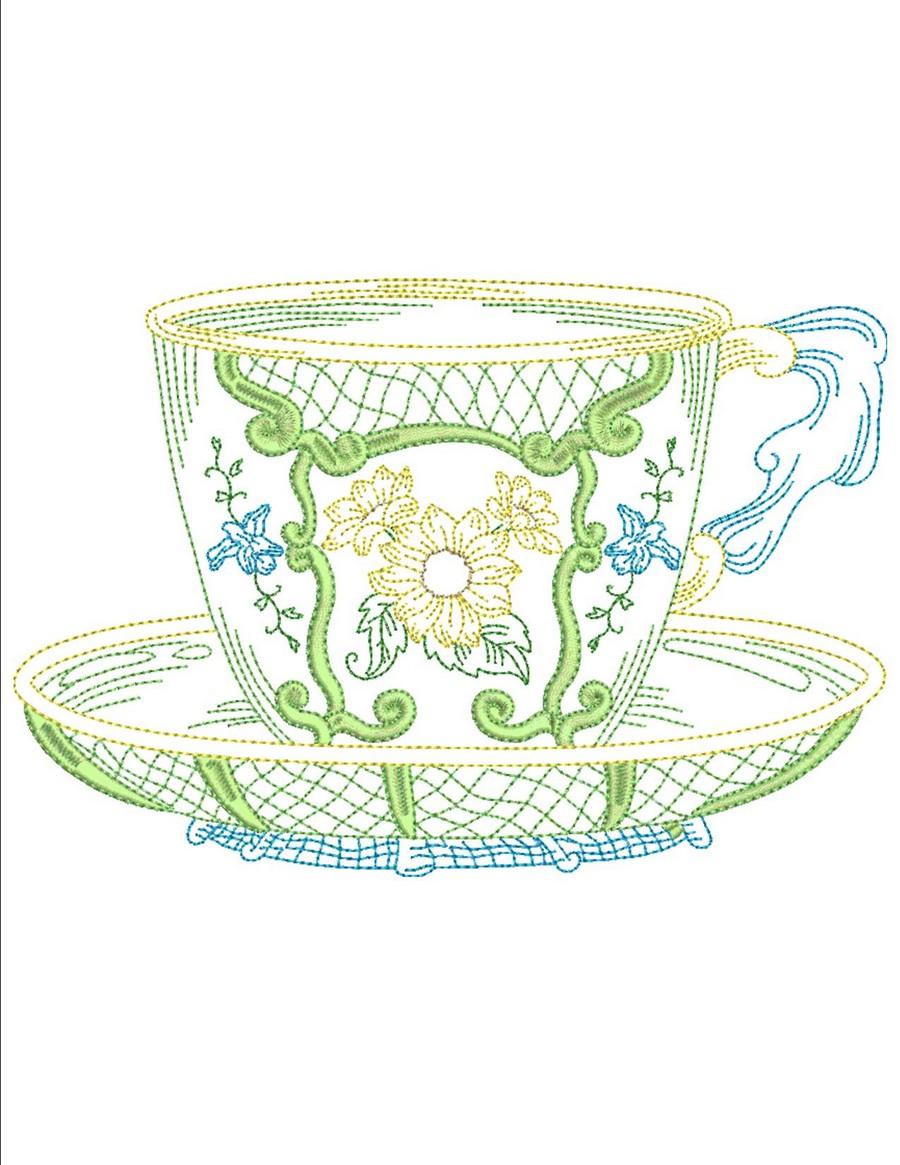 Vintage Tea Cups Part - 33: Vintage Teacups