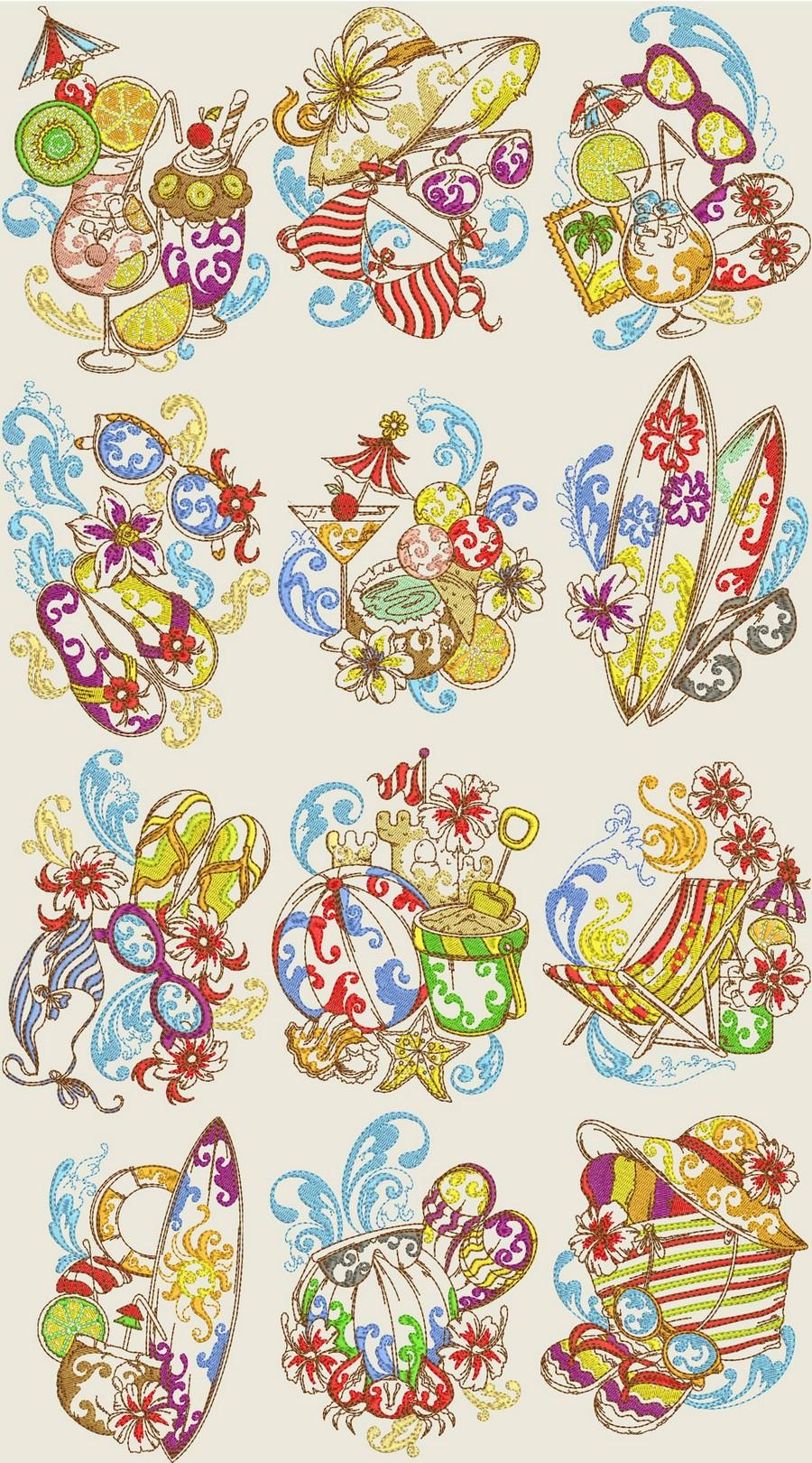 Дизайны машинной вышивки бесплатно Royal Present Embroidery 22