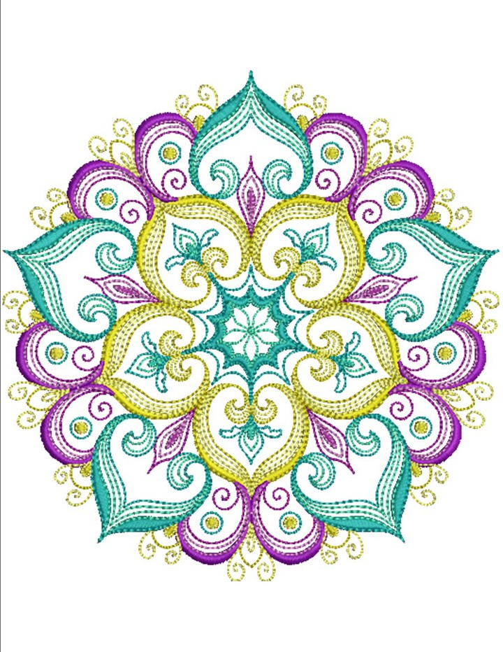 Mandala Essence | Machine Embroidery Designs By Sew Swell