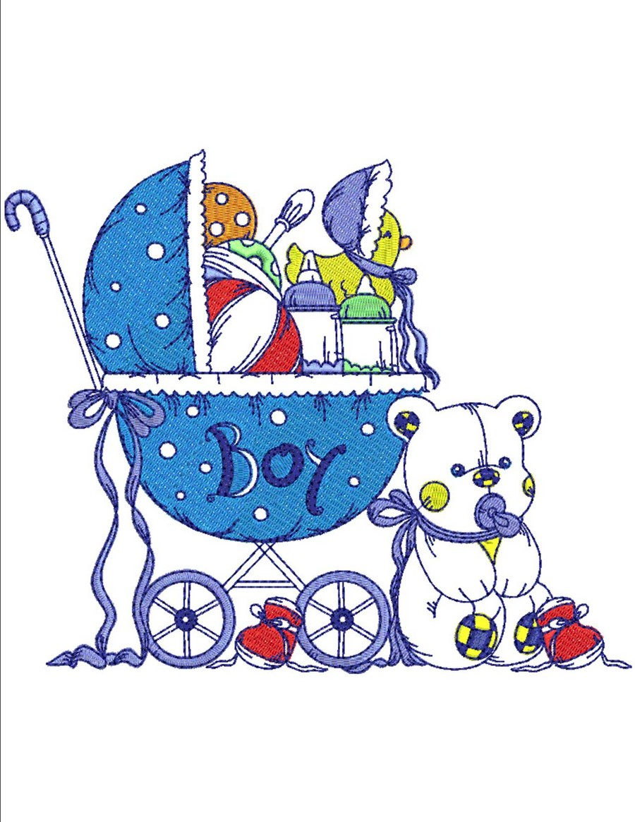 Baby Boy Stuff Collection Machine Embroidery Designs By