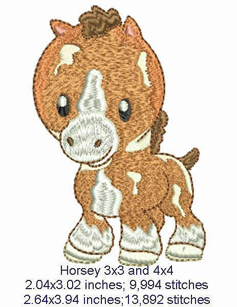 Baby Farm Animals Machine Embroidery Designs By Sew Swell