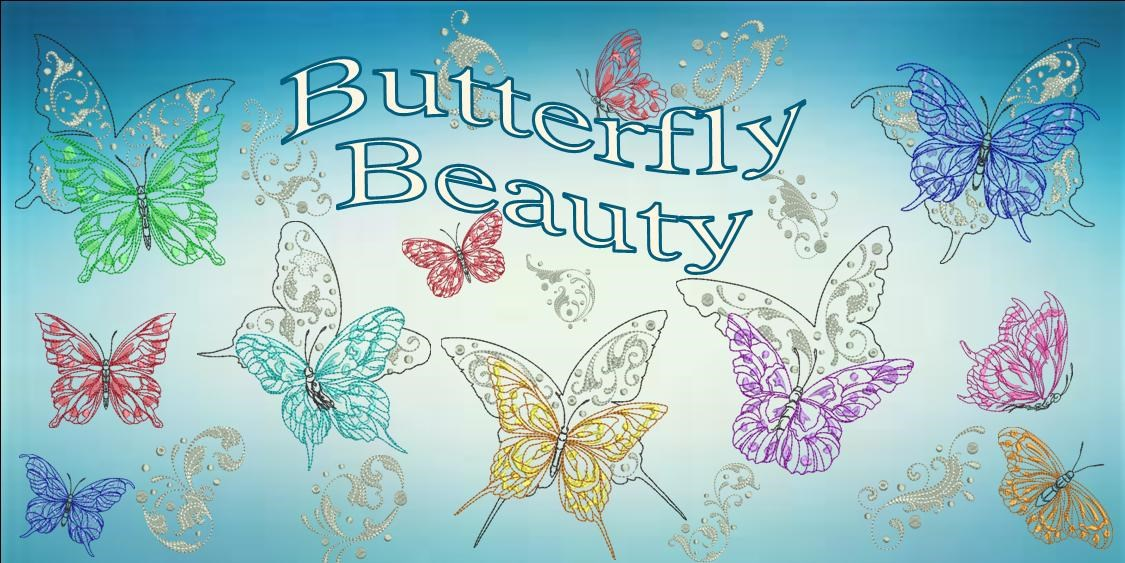 Butterfly Beauty Banner