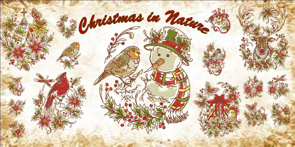 Christmas in Nature Banner
