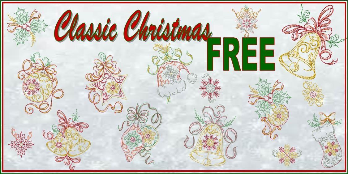 Classic Christmas Banner