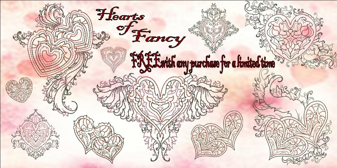 Hearts of fancy FREE Banner