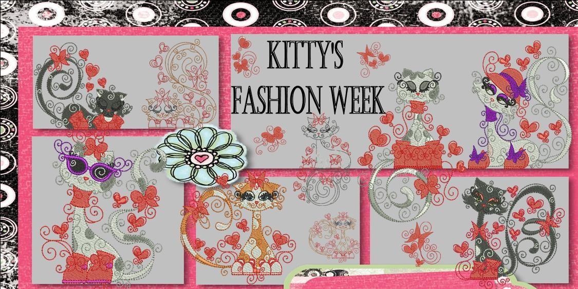 Kitty's Fashion Week Banner