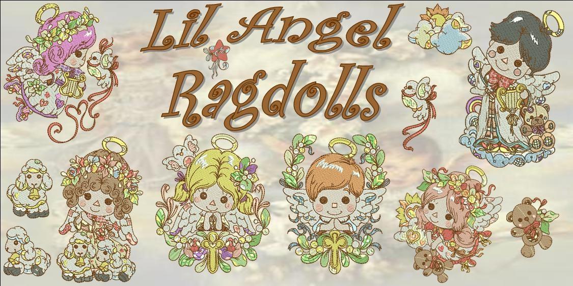 Lil Angel Ragdolls Banner