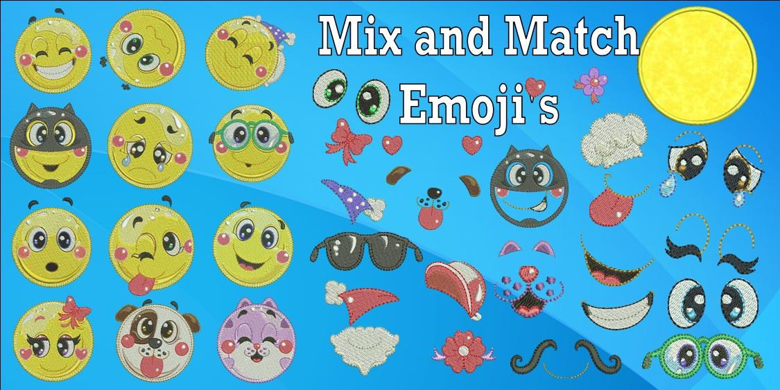 Mix and Match Emoji Banner