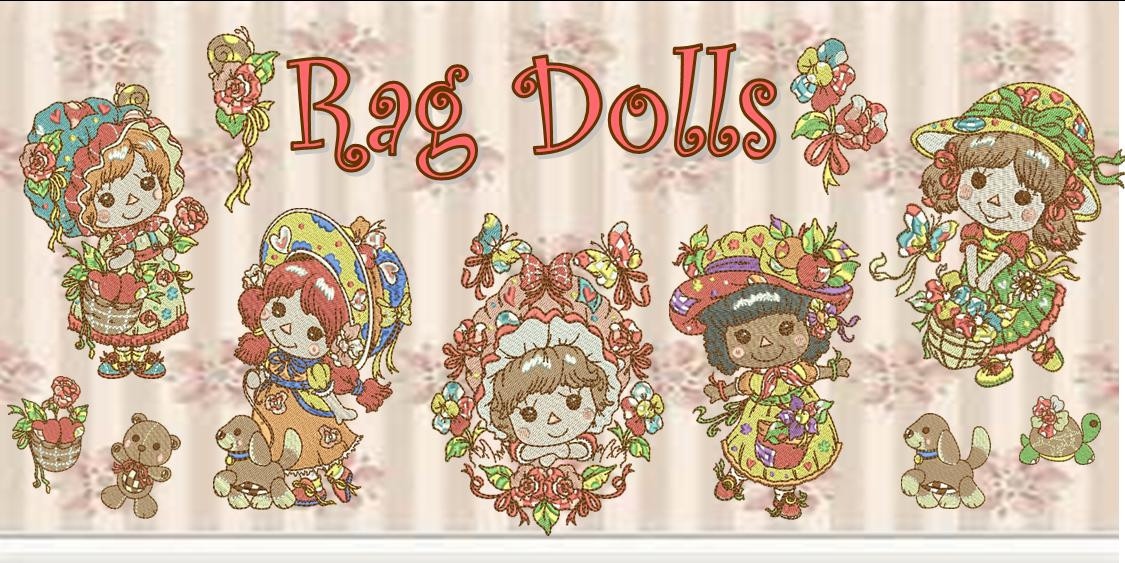 Rag Dolls Banner