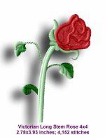 Victorian Rose Sample