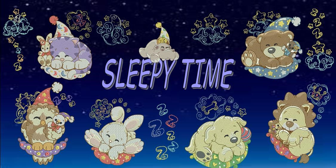 Sleepy Time Banner