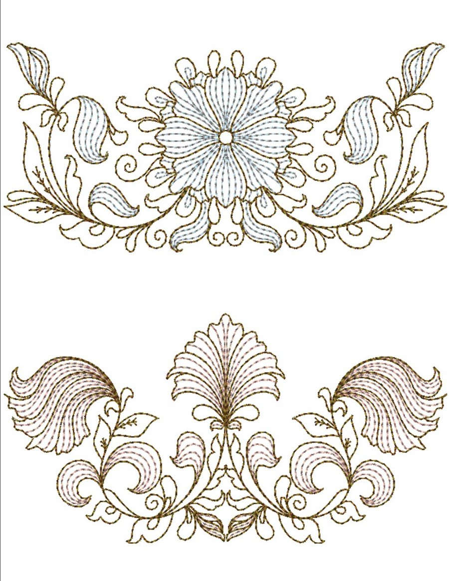 MACHINE EMBROIDERY DESIGNS ON CD OR USB BLOCKS /& ACCENTS COLLECTION BORDERS