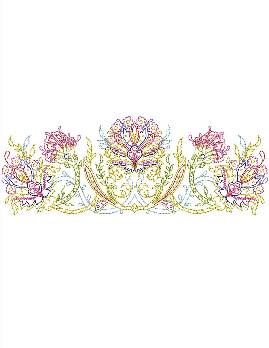 Keepsake quilt borders machine embroidery designs by sew