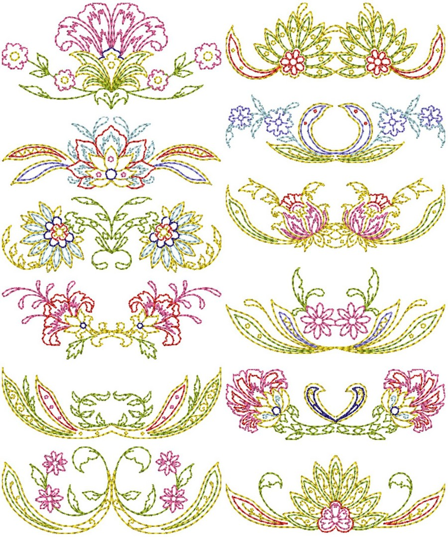 Keepsake Quilt Borders Machine Embroidery Designs By Sew Swell