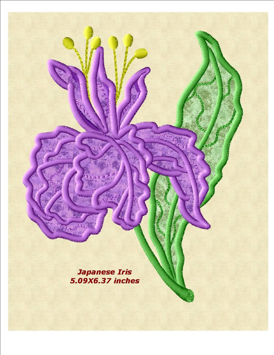 Oriental floral applique machine embroidery designs by sew swell preview nvjuhfo Image collections