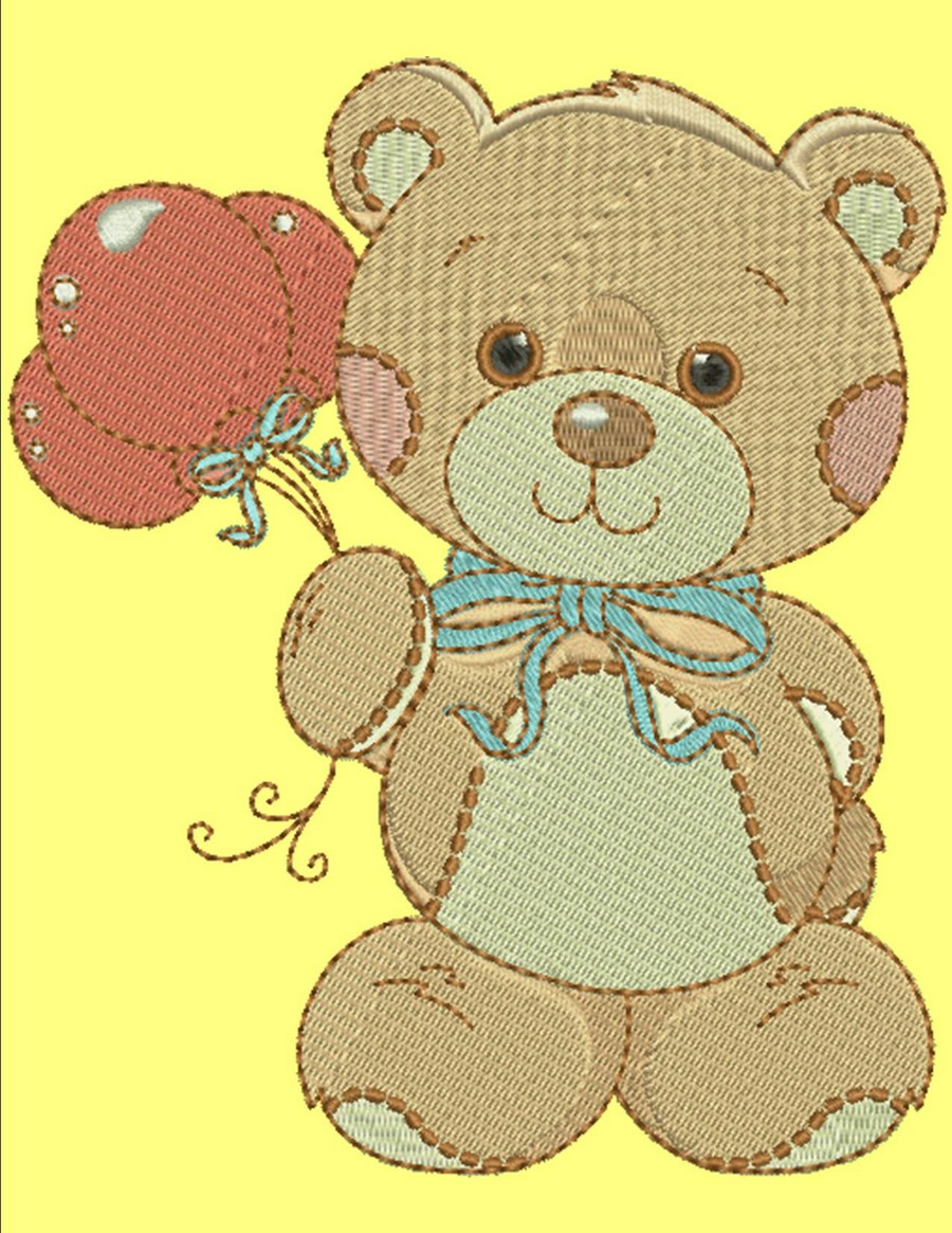 Teddy Bear Pals Collection Machine Embroidery Designs By Sew Swell