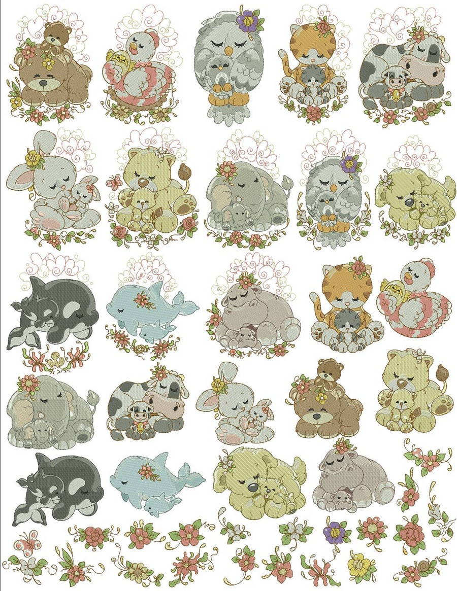 Mommy and Me Animals Bundle_900