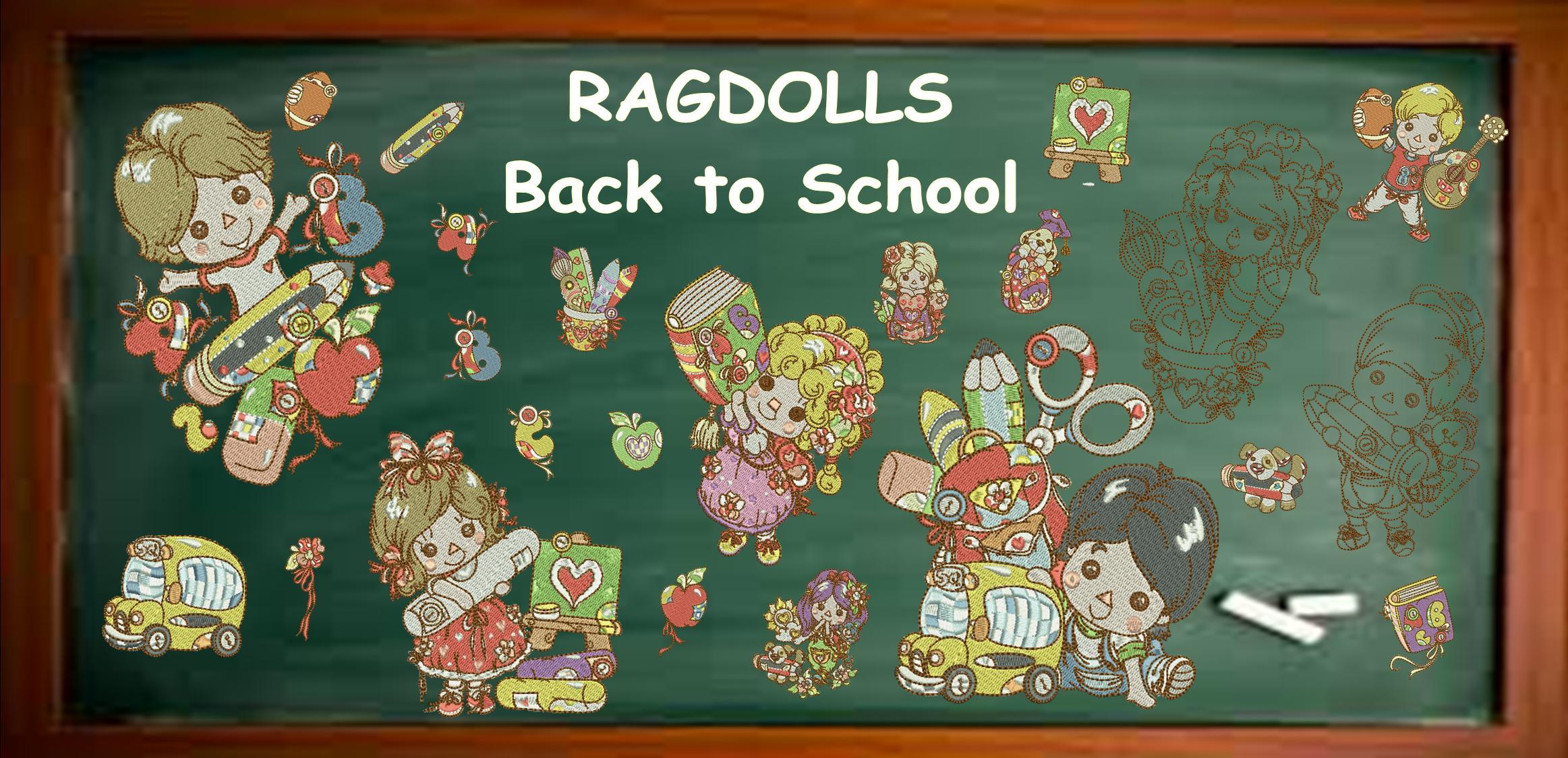 RAGDOLLS BACK TO SCHOOL  Banner