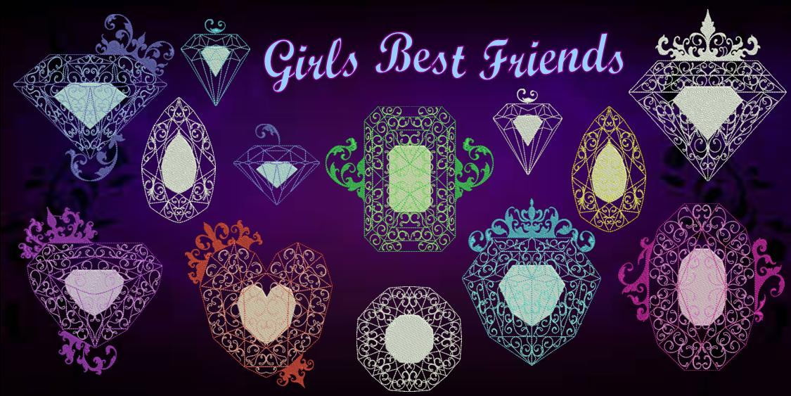 Girls Best Friends Banner