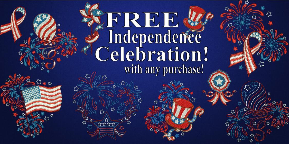 Independence Celebration Free Banner2