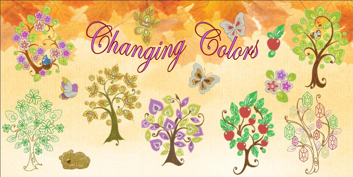 Changing Colors Banner