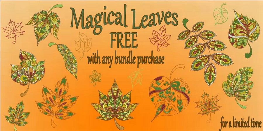 Magical Leaves FREE banner_900