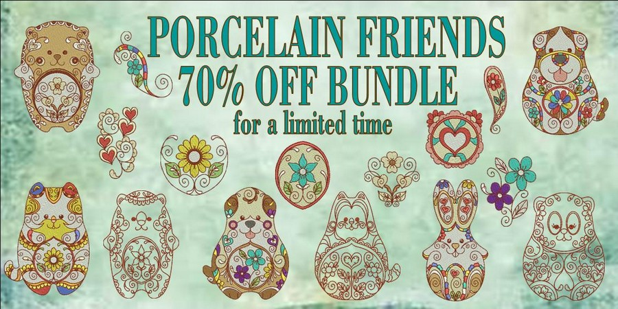 Porcelain Friends 70% Banner_900