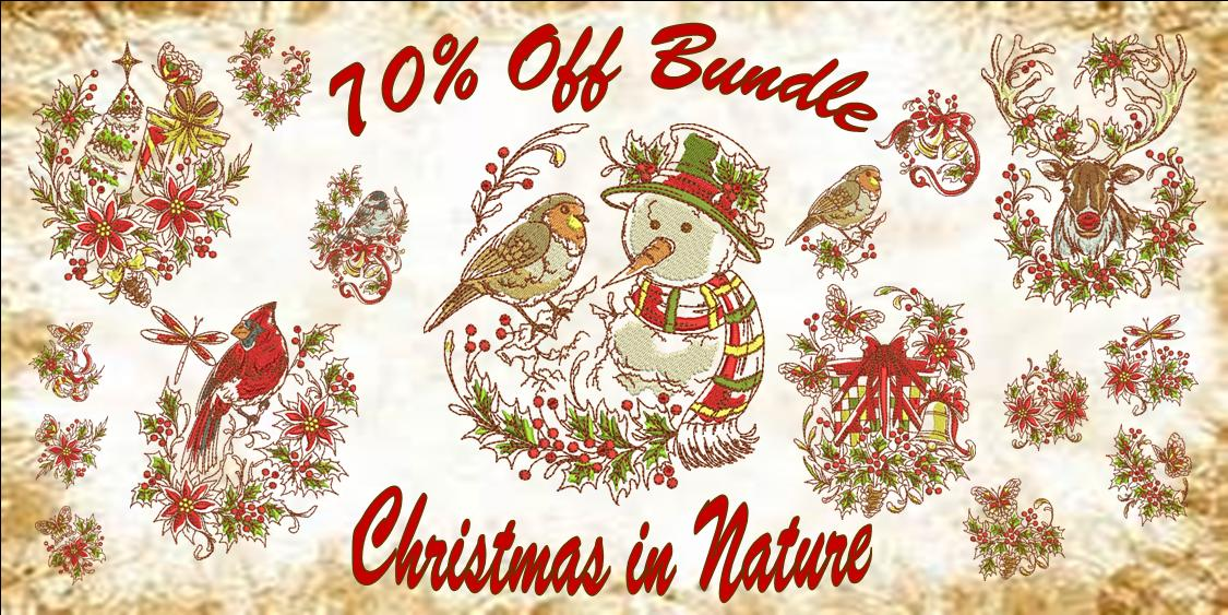 Christmas in Nature Banner70%