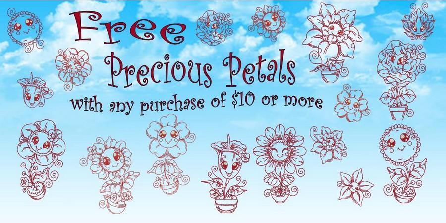 Precious Petal Free Banner_900