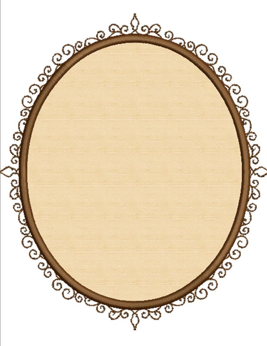 Love girl applique frame mirror accents machine for Applique miroir