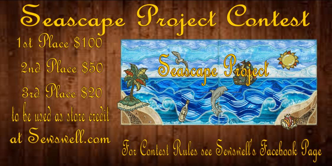Seascape Project contest flyer banner