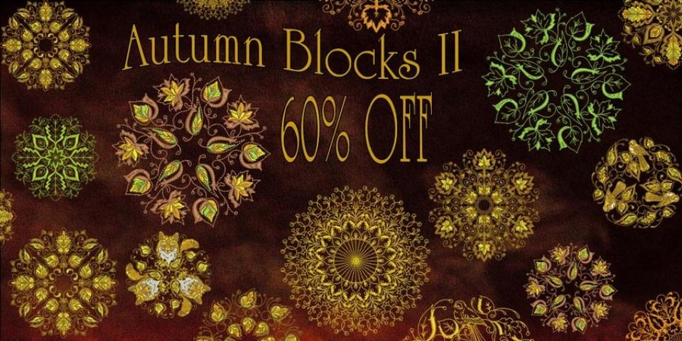 AUTUMN BLOCKS II 60% OFF BANNER_900