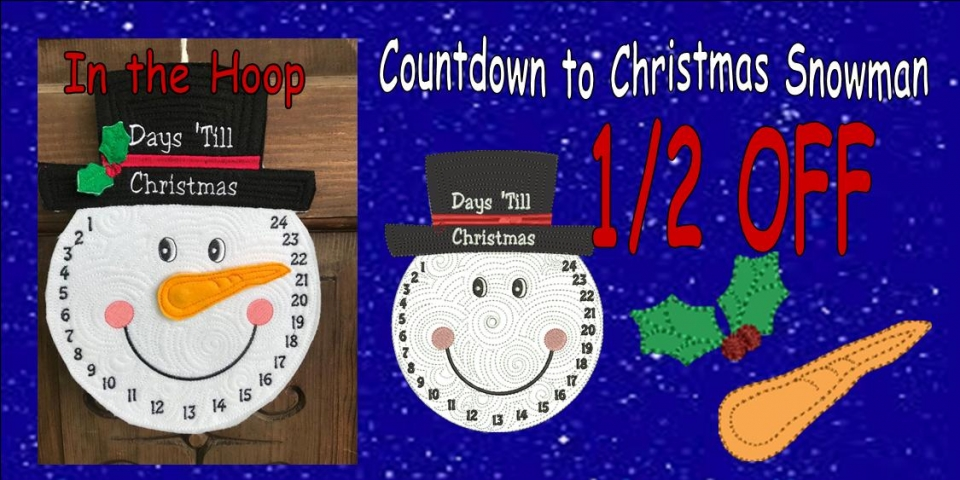 Countdown to Christmas Banner .5 OFFnew