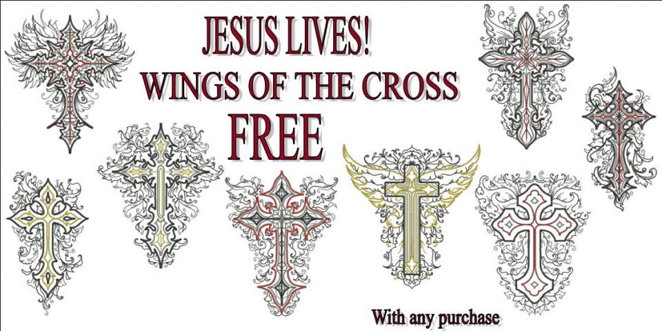 wINGS OF THE CROSS BANNER