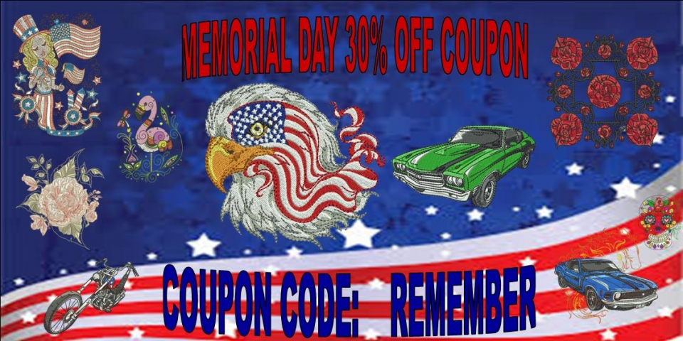 MEMORIAL DAY coupon DAY BANNER