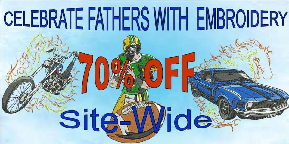 Fathers day sitewide banner