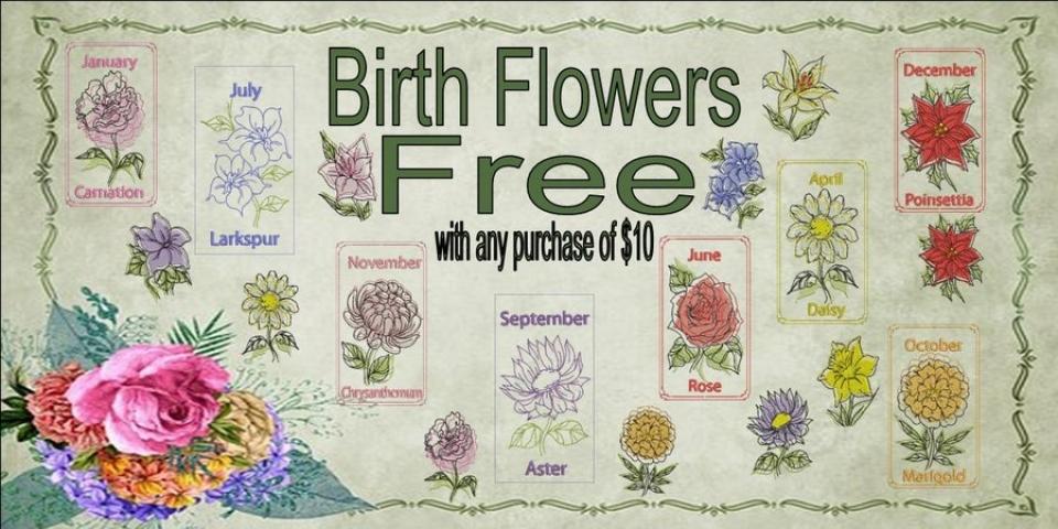 Birth Flower Banner_900