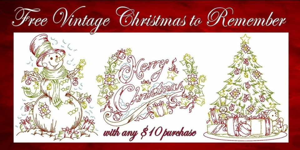 Vintage Christmas to Remember Banner