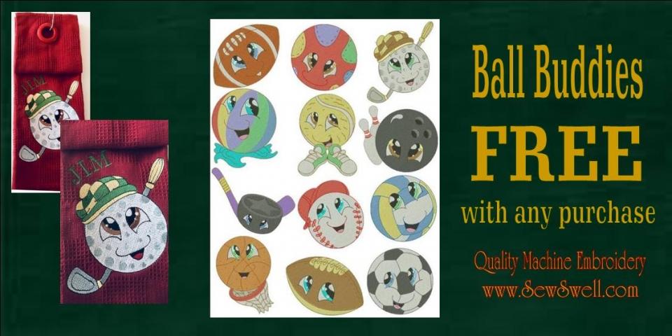 ball buddies free banner