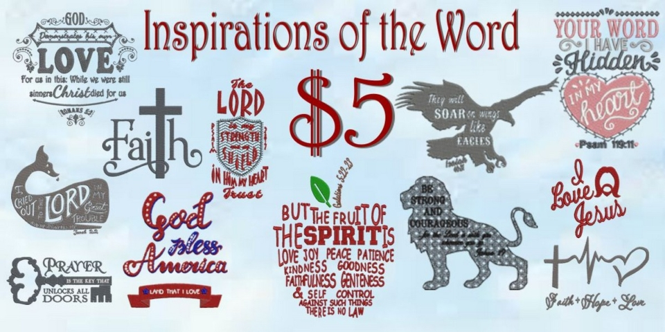 Inspirations of the Word Banner