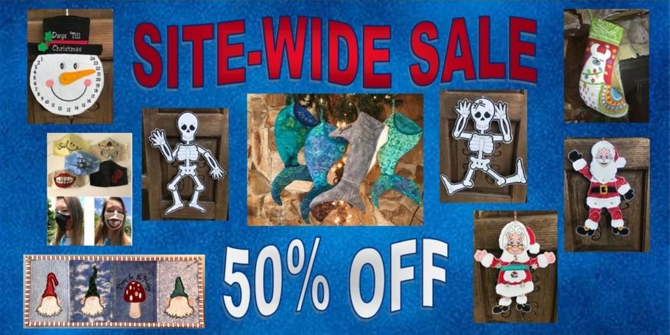 50% Site-Wide Banner